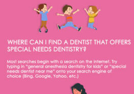 special needs dentistry infographic